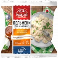 Пельмени «Марьино» со свининой и говядиной, 400 г.