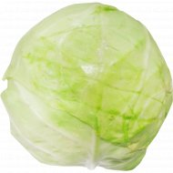 Капуста белокочанная свежая, 1 кг., фасовка 1.5-2.2 кг