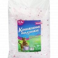 Наполнитель для кошачьего туалета «Кошкина Полянка» лаванда 4,5 кг.