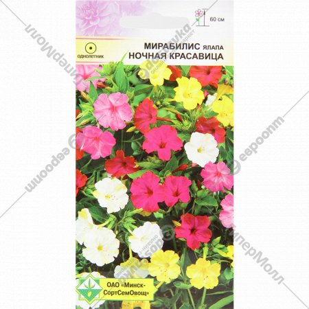 Семена «Мирабилис ялапа ночная красавица» 1.5 г.