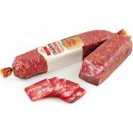 Колбаса сырокопченая «Мясной каприз» высший сорт, 1 кг, фасовка 0.5-0.7 кг