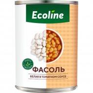 Фасоль белая «Эколайн» в томатном соусе, 425 г.