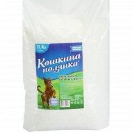 Наполнитель «Кошкина Полянка» силикагелевый, 11.4 л, 4.5 кг.
