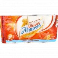 Туалетная бумага «Almusso» Vicuna, 2-слойная, 8 рулонов.