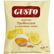 Майонез «Провансаль» с лимонным соком, 50.5%, 400 мл.
