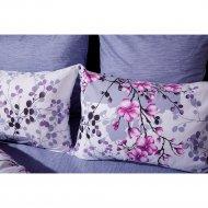 Комплект постельного белья «Ночь Нежна»Сакура, двуспальный, 50х70.
