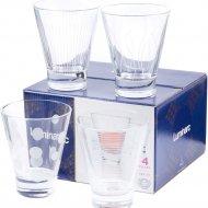 Набор стаканов стеклянных «Lounge club» 300 мл., 4 шт.