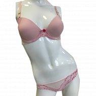 Комплект белья «NBB» 4340, нежно-розовый.