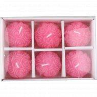 Свечи «Цветочные шарики».