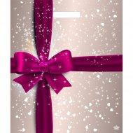Мешок с ручками «Подарочный перламутр» 45х38 см