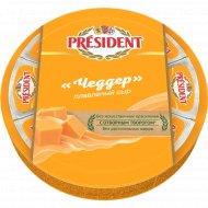 Сыр плавленый «President» Чеддер, 45%, 140 г