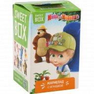 Мармелад с игрушкой «Sweet Box» фруктовый вкус, 10 г.