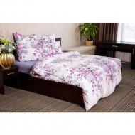 Комплект постельного белья «Ночь Нежна» Сакура, евро 50х70, премиум.