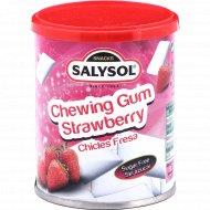 Жевательная резинка «SALYSOL» без сахара, с ароматом клубники, 30 г