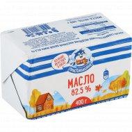 Масло сладкосливочное «Простоквашино» несоленое, 82.5%, 400 г