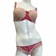 Комплект белья «NBB» 4381, розовые цветы.