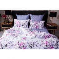 Комплект постельного белья «Ночь Нежна» Сакура, евро 70х70, премиум.