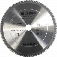 Диск пильный «Hilberg» Industrial, HW453