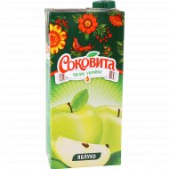Напиток сокосодержащий «Sokovita» яблочный, 0.95 л.