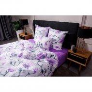 Комплект постельного белья «Ночь Нежна» Магнолия, 2 сп. 70х70 премиум.