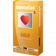Презервативы «Masculan» gold, 10 шт.