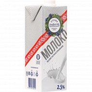 Молоко «Страна Васiлькi» ультрапастеризованное, 2.5%, 1 л.
