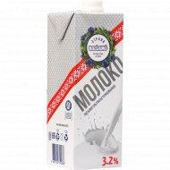 Молоко «Страна Васiлькi» ультрапастеризованное, 3.2%, 1 л.