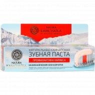 Зубная паста «Natura Kamchatka» профилактика кариеса, 100 мл.