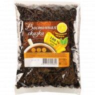 Чай черный «Восточная сказка» листовой со вкусом лимона 100 г.
