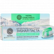 Зубная паста «Natura Kamchatka» здоровье зубов и десен, 100 мл.