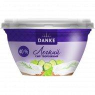 Сыр творожный «Danke» легкий, 40%, 135 г.