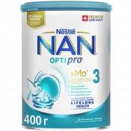 Детское молочко «NAN 3» Optipro, с 12 месяцев, 400 г.