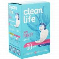 Гигиенические ежедневные прокладки «clean life» Classic, 60 шт