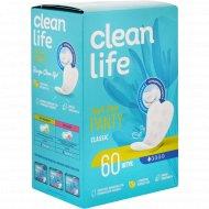 Прокладки гигиенические ежедневные «clean life» Classic, 60 шт.