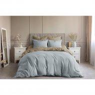 Комплект постельного белья «Ночь Нежна» Тирамису, Евро 50х70.