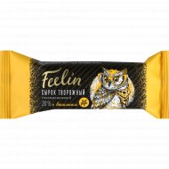 Сырок глазированный «Feelin» с ванилином, 20%, 40 г.
