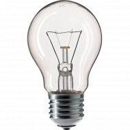 Лампа накаливания «Лисма» тип Б, 230-75-4, цоколь е27.