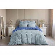 Комплект постельного белья «Ночь Нежна» Лазурь, Евро 70х70.