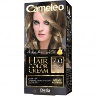 Крем-краска для волос «Cameleo» тон:7.0, средний блондин.