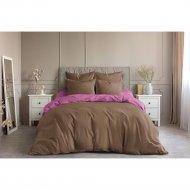 Комплект постельного белья «Ночь Нежна» Моккачино, Евро 70х70.