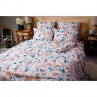 Комплект постельного белья «Ночь Нежна» Акварельный цветок, евро.
