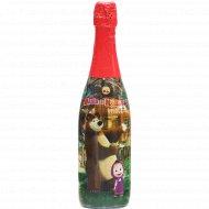Напиток безалкогольный «Маша и медведь» со вкусом вишни, 0.75 л.