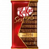 Шоколад «Kit Kat» Senses, молочный и темный, c хрустящей вафлей, 112 г