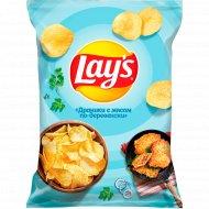 Картофельные чипсы Lay's Драники с мясом, 150г