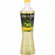 Масло подсолнечное «Amado» c добавлением оливкового масла, 700 мл.