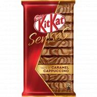 Белый и молочный шоколад «Kit Kat» Senses со вкусом карамели и капучино,112 г.