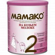 Сухая молочная смесь «Мамако-2» на козьем молоке 800 г.