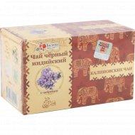Чай черный «Калиновские чаи» индийский с чабрецом, 20х1.8 г.