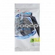 Бритва одноразовая «Dorco» TG-708, станок 5+1 шт в Подарок, 2 лезвия.