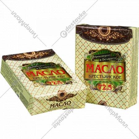 Масло «Крестьянское» сладкосливочное, 72.5 %, 200 г.